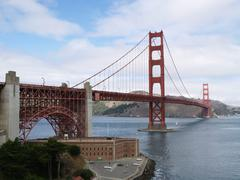 Golden gate bridge of san francisco, california Stock Photos