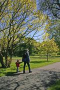 A stroll in the park Stock Photos