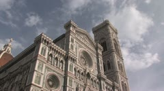 Florence Cathedral Stock Footage