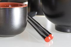 Japan table - stock photo