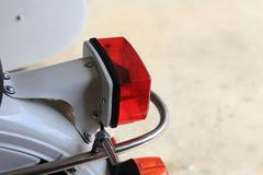 URAL taillight Stock Photos