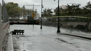 Stock Video Footage of NYC Hurricane Sandy Flooded tunnel 3