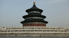 The Temple of Heaven in Beijing, Tiantan, China, Chinese Religious Complex Stock Footage