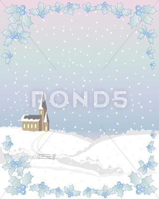 Stock Illustration of white christmas.jpg
