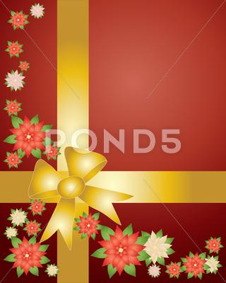 Stock Illustration of winter flowers