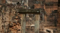 Tilt up of Pre Rup Stock Footage