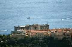 oceanographic museum of monaco - stock photo