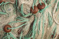 Stock Photo of fishing nets background
