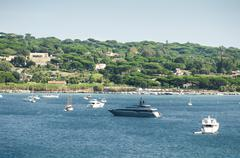 French riviera views Stock Photos