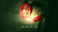 Paranormal Activity 2 | Flashlight POV with Video Timecode Stock Footage