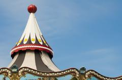 Amusement park details Stock Photos