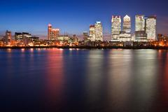 Stock Photo of london city general skyline at night