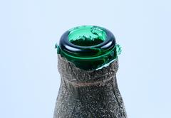 neck of bottle - stock photo