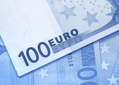 Euro money background Stock Photos