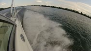 Speed Boat Port Side 30 1080 Stock Footage