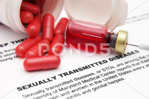Stock photo of sexually transmitted diseases