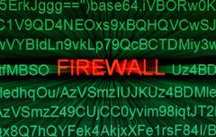 Firewall concept Stock Photos