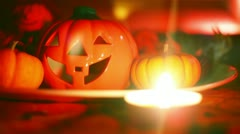 Haloween decore decoration Stock Footage