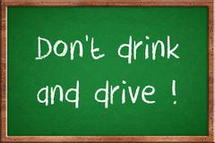 Don't drink and drive Stock Illustration