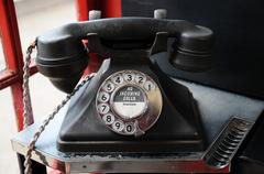 Stock Photo of Old phone