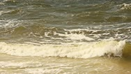 Rough water 60 FPS slow motion Stock Footage