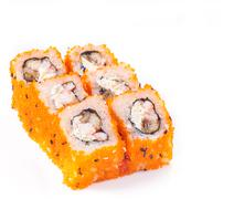 Stock Photo of sushi roll with eel and cheese