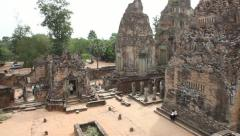 180º Pan from front of Pre Rup Stock Footage