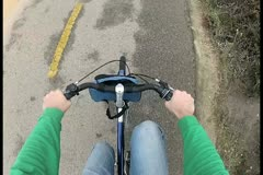 Bike POV V4 - NTSC Stock Footage