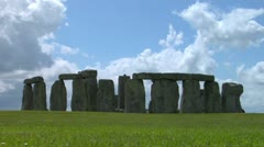 Stonehenge Backlit Stock Footage