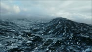 Stock Video Footage of Rough Sea Loop 3D FULL HD