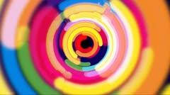 Pop Circles Stock Footage