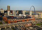 Stock Photo of Busch Stadium St. Louis