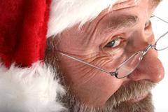 Santa close up Stock Photos