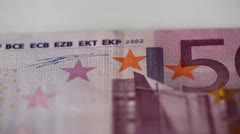 500 euro Stock Footage