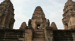 The top of Pre Rup Stock Footage