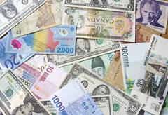 International currency Stock Photos