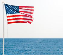 United states of america flag Stock Photos