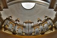 Stock Photo of church organ