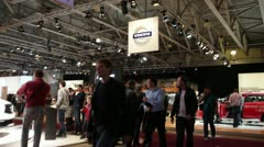 VOLVO Expo MMAC 2012 Stock Footage