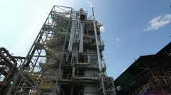 Oil plant Stock Footage