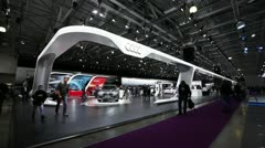 AUDI Expo MMAC 2012 Stock Footage