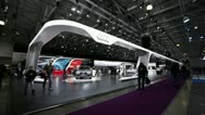 Stock Video Footage of AUDI Expo MMAC 2012