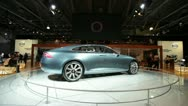 Stock Video Footage of Volvo Concept Expo MMAC 2012