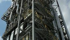 Petrochemical plant architecture Stock Footage