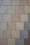 Pastel colored geometric stone pattern Stock Photos