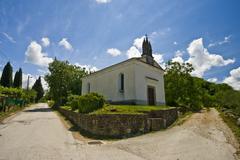 The church of the Holy Trinity Stock Photos