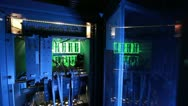 System block of the computer, server Stock Footage