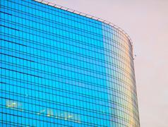 Skyscraper in Moscow - stock photo