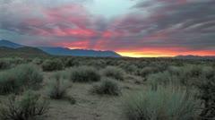 Sierra Nevada Sunset Stock Footage