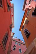 Picturesque part of Rovinj - stock photo